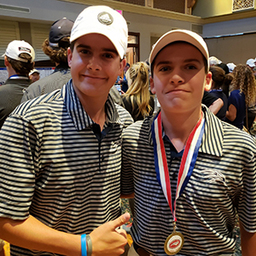 Golf finishes 5th at NCISAAs; Jack Dannemann earns All-State