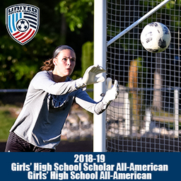 Ruthie Jones earns All-America and Scholar All-America honors in soccer