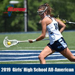 Cece Colombo earns All-American recognition in girls' lacrosse