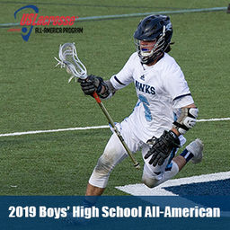 US Lacrosse recognizes Collin Hoben as an All-American