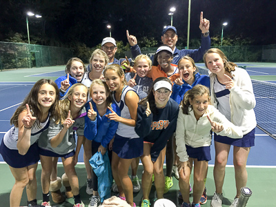 a823d90ee5 The Middle School Girls' Tennis team had another remarkable season. The team  finished its season undefeated for the third year in a row.