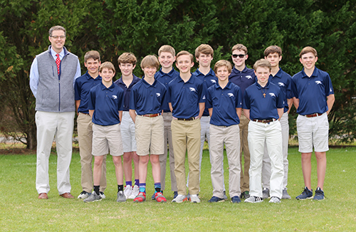 Middle School Boys' Golf